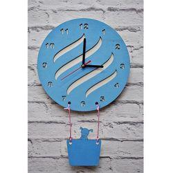 Zegar Ścienny Balon, kolor Zegar
