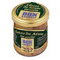 Filety z tuńczyka w oliwie z oliwek 150g  marki Bon appetit
