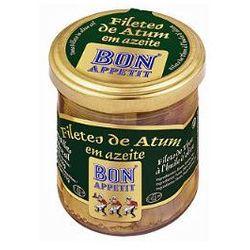 Filety z tuńczyka w oliwie z oliwek 150g , marki Bon appetit