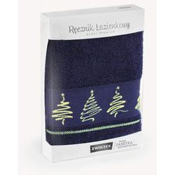 Zwoltex Ręcznik jodła 50x90 atrament premium