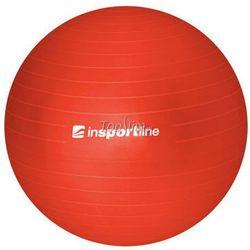 Piłka fitness Top Ball z pompką 55cm Insportline - czerwony, kup u jednego z partnerów