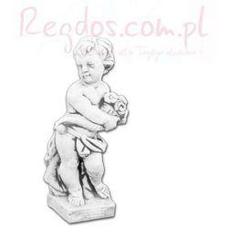 Figura betonowa Dziecko z Bukietem 49cm