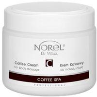 Norel (Dr Wilsz) COFFEE SPA COFFEE CREAM FOR BODY MASSAGE Krem kawowy do masażu ciała (PB307)
