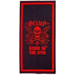 LIVE AND FIGHT TOWEL black & red 70x40 z kategorii Ręczniki