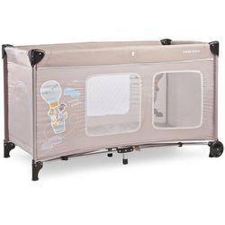 łóżeczko turystyczne simplo plus beige nowość 2020 marki Caretero