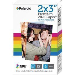 Polaroid Wkłady do aparatu Z2300/Snap/drukarki Polaroid ZIP - opakowanie 50 szt.