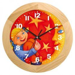 Zegar drewniany dziewczynka z księżycem marki Atrix