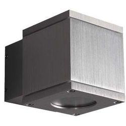 Zewnętrzna LAMPA ścienna HOME SQUARE 200 85 85 01 Maxlight aluminiowa OPRAWA ogrodowa IP65 outdoor aluminium szczotkowane, kup u jednego z partnerów