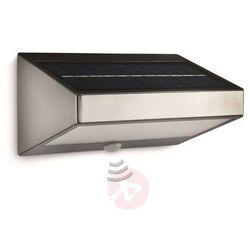 Solarna lampa ścienna greenhouse z czujn. ruchu marki Philips