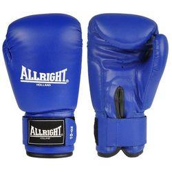 Rękawice bokserskie Allright PVC - niebieskie, towar z kategorii: Rękawice do walki