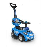 Jeździk pojazd happy 3 w 1 niebieski #b1 marki Milly-mally