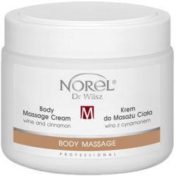 body massage cream wine and cinnamon krem do masażu ciała wino z cynamonem (pb327) wyprodukowany przez Norel