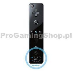 wii remote controller plus, black wyprodukowany przez Nintendo
