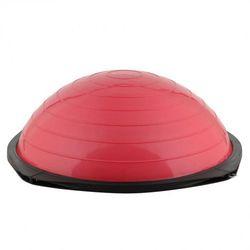 Bosu trener równowagi z linkami  dome advance - kolor czerwony od producenta Insportline