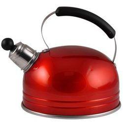 Florentyna Czajnik aluminiowy 1,25l czerwony metalik -art 090t (5907521009817)