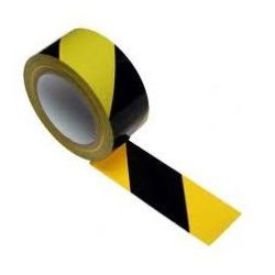 Taśma ostrzegawcza samoprzylepna żółto czarna szerokość 50 mm - sprawdź w wybranym sklepie