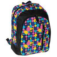 Starpak  plecak szkolny paint w kolorowe kropki - 348769 darmowy odbiór w 21 miastach!