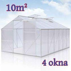 Szklarnia ogrodowa aluminiowa 10 m², marki Jago