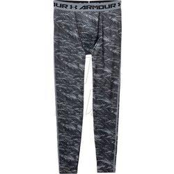 Spodnie kompresyjne  HeatGear® Armour Printed Compression Leggings M 1258897-004, spodnie męskie Under Armou
