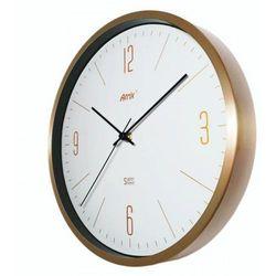 Złoty zegar aluminiowy Super Cichy #1 /30cm