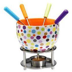 Zestaw do fondue Mastrad (kolorowe kropki), MA-F47525