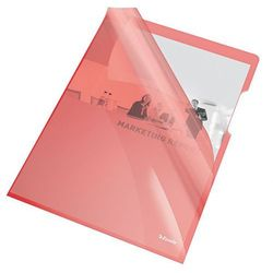 Esselte Ofertówka krystaliczna l  55433 a4/25szt.,150mic. czerwona, kategoria: koszulki, teczki, koperty