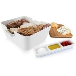 Zestaw do przekąsek z chlebakiem  (biały) marki Tomorrow's kitchen