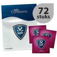 Prezerwatywy ultra cienkie -  feel safe condoms ultra-thin 72szt marki Safe