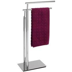 Łazienkowy stojak na ręczniki LISBOA - 2 ramienny, WENKO, B06WGYNH59