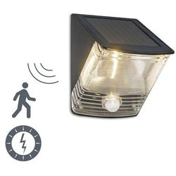 Lampa zewnętrzna dark led na energię słoneczną z czujnikiem ruchu, marki Ranex