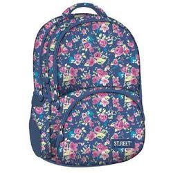 St.reet plecak szkolny bp-07 kwiaty różowe 609053 od producenta St. majewski