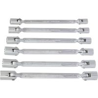 Zestaw kluczy nasadowych NEO 09-140 przegubowych (6 elementów)
