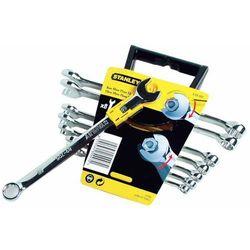 STANLEY Zestaw kluczy płasko-oczkowych, szybkich - 8szt. (8-16mm) 89-997, SY89-997