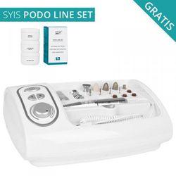 FREZARKA SHINE 319 ZESTAW Z FREZAMI+SET PODO LINE - produkt z kategorii- Urządzenia i akcesoria kosmetyczne
