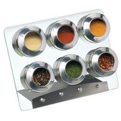 Stojak na przyprawy magnetyczny z 6 pojemnikami , marki Kitchen craft