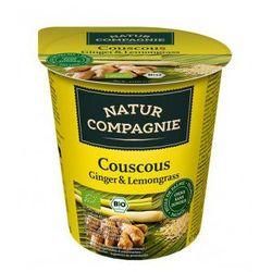 Natur compagnie (buliony, kostki rosołowe) Danie w kubku kuskus imbir z trawą cytrynową bio 68 g - natur co