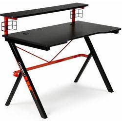 Modernhome Biurko gamingowe, stół dla gracza, moderhome, 120, czarne, czerwone
