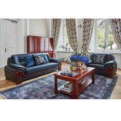 Sofa 3-osobowa PALLADIO czarny, kolor czarny