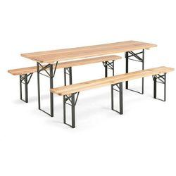 Stól z ławkami