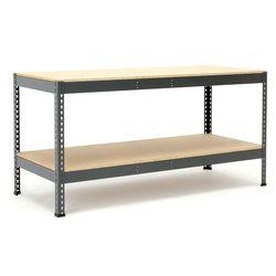 Stół warsztatowy COMBO, z półką dolną, 1840x775x915 mm, 280822