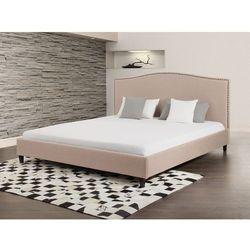 Łóżko beżowe - 160x200 cm -  tapicerowane - MONTPELLIER, marki Beliani do zakupu w Beliani