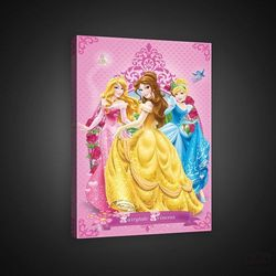 Obraz disney princess cinderella, bellle, aurora ppd37 marki Consalnet