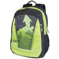 Plecak szkolno-sportowy SPOKEY 836133 Czarno-zielony