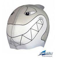 SWIMFIN Silikonowy czepek dla Dzieci - Szary