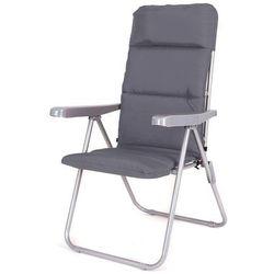 Happy green krzesło ogrodowe składane loara 68 × 58 × 107 cm, antracyt (8591022468395)