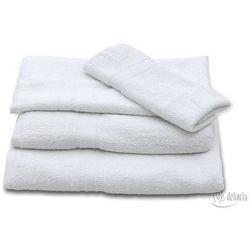 ręcznik 50x70 biały, 50 × 70 cm marki Dekoria