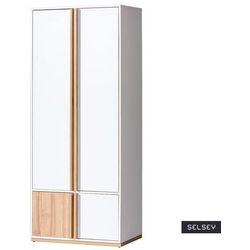 szafa dwudrzwiowa fuyue orzech select marki Selsey