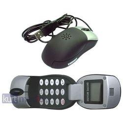 Mysz Gembird optyczna USB, 800 DPI, czarna + LCD (SKY-M1) Darmowy odbiór w 16 miastach!