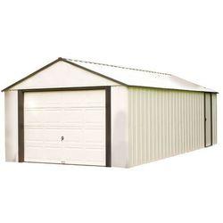Garaż blaszany Vinyl Murryhill 3,7 x 9,4 m Arrow