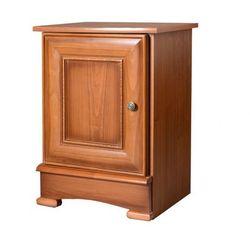 Vente-unique Stolik nocny laurel - 1 drzwi - dekor z dzikiej wiśni